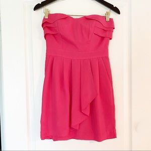 BCBGeneration Pink Sweetheart dress